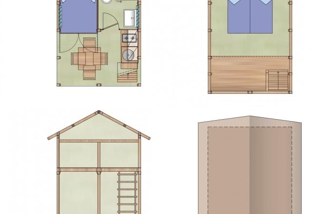 Planimetry Lodge Tent Airsuite