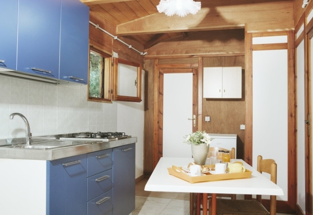 Kitchenette of the Bungalow