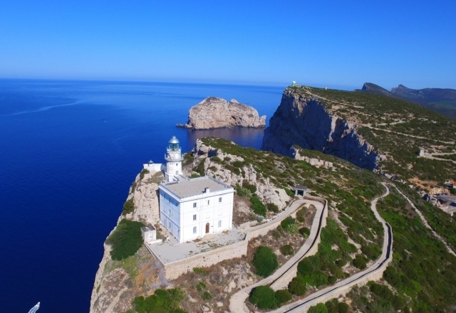 Lighthouse of Capo Caccia