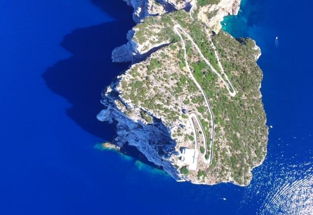 Capo Caccia's cliff