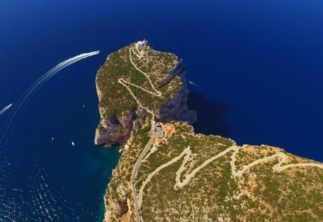 Eastern side of Capo Caccia
