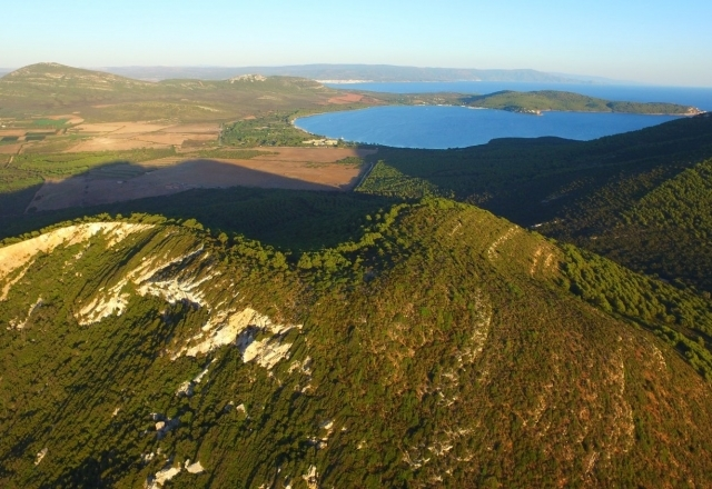 Aerial photo from Monte Timidone