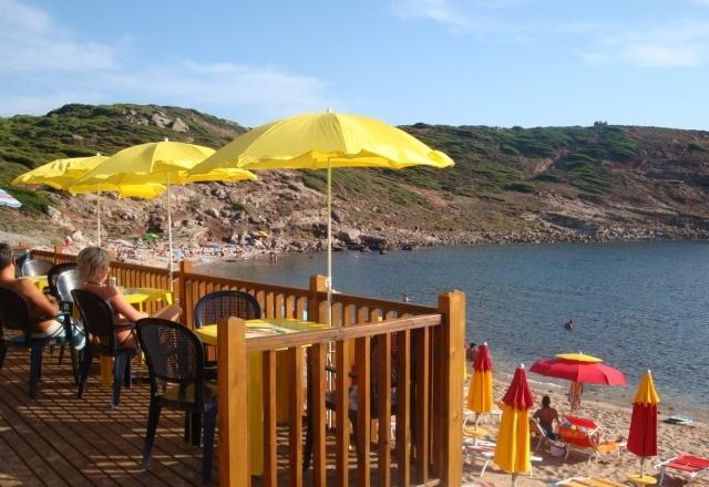 Seaside bar of Torre del Porticciolo