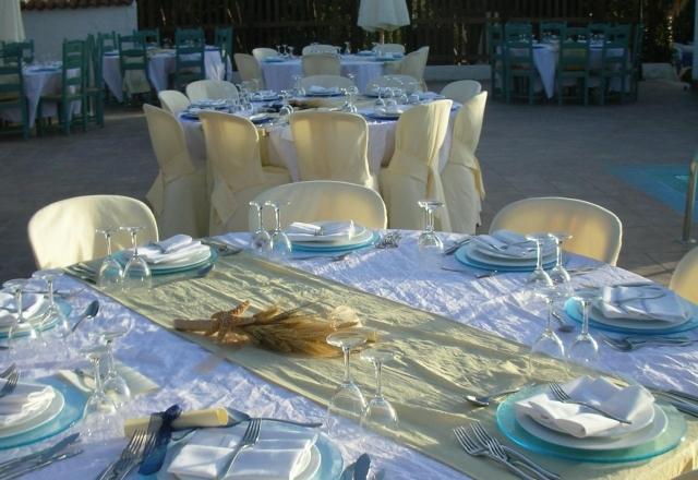 Wedding dinner at the Velieri restaurant