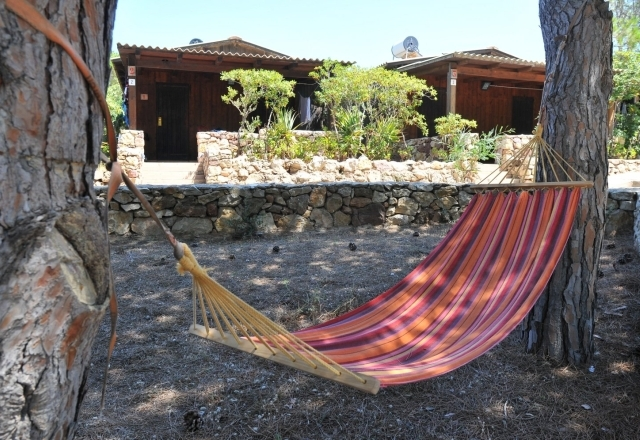 Hammock in the Chalet's garden