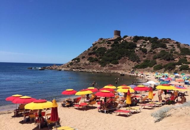Beach of the Torre del Porticciolo