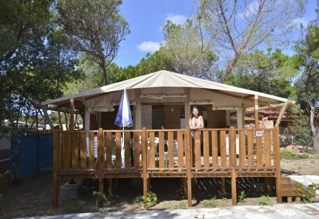 Patio Lodge Tent Safari | Torre del Porticciolo