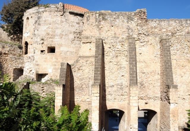 Ancient walls of Alghero