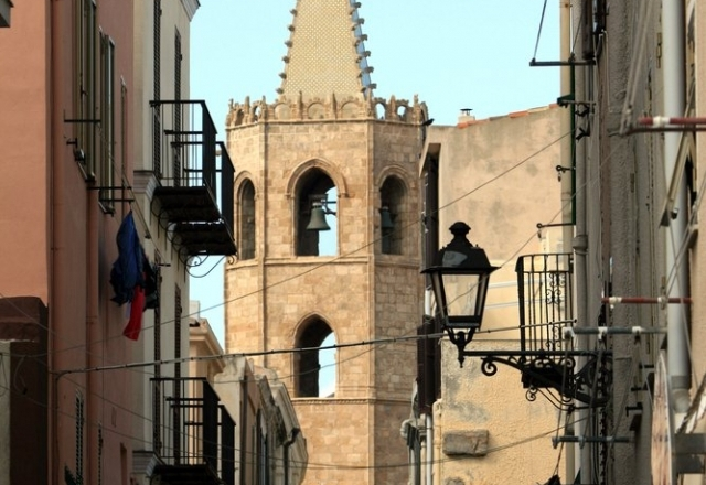 Bell tower of the Cathedral of Santa Maria