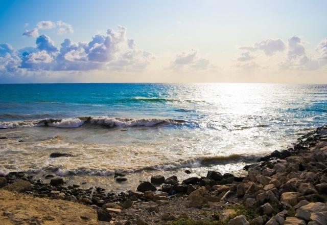 Alghero's sea